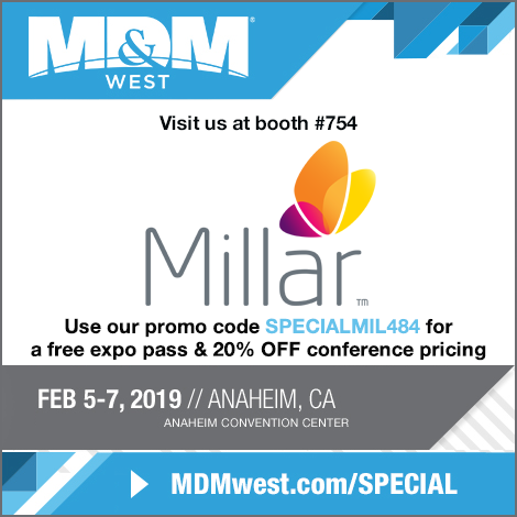 Millat at MD&M West